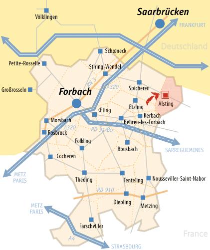 """Résultat de recherche d'images pour """"agglomération de forbach"""""""